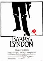 "Barry Lyndon - red rose - 11"" x 17"""