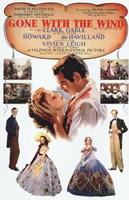 """Gone with the Wind Vintage Poster - 11"""" x 17"""""""