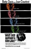 """Whatever Happened to Baby Jane - faces - 11"""" x 17"""" - $15.49"""