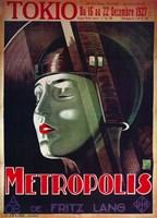 Metropolis Tokio Green Fine Art Print