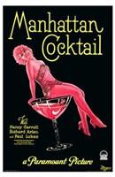 """Manhattan Cocktail - 11"""" x 17"""""""