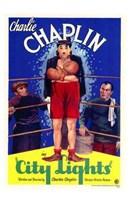 "City Lights - Charlie Chaplin - 11"" x 17"""