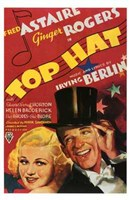 Top Hat Wall Poster