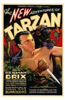 The New Adventures of Tarzan, c.1935 - style B Wall Poster