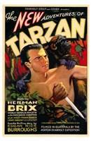 "The New Adventures of Tarzan - style B, 1935, 1935 - 11"" x 17"""
