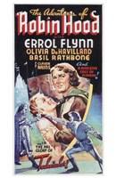 "The Adventures of Robin Hood Olivia DeHavillard - 11"" x 17"""