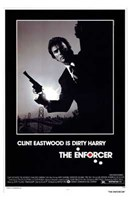 The Enforcer Clint Eastwood is Dirty Harry Wall Poster