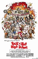 Rock N Roll High School Fine Art Print