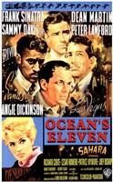 Oceans 11 Frank Sinatra Fine Art Print