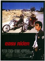 Easy Rider Motorcycle Bikers Fine Art Print