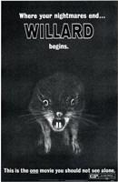 "Willard Featuring Ben The Rat - 11"" x 17"", FulcrumGallery.com brand"