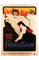 French Can Can Wall Poster