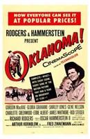 "Oklahoma Rogers Hammerstein - 11"" x 17"""