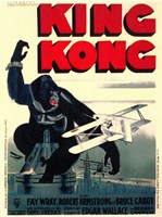 """King Kong on top of Empire State Building - 11"""" x 17"""" - $15.49"""