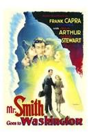 "Mr Smith Goes to Washington Capra Arthur Stewart - 11"" x 17"""