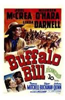 "Buffalo Bill Joel McCrea - 11"" x 17"", FulcrumGallery.com brand"
