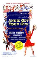 """Annie Get Your Gun - 11"""" x 17"""""""