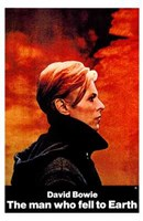 The Man Who Fell to Earth Side View Wall Poster