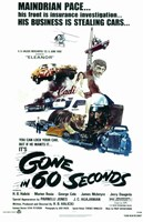 Gone in 60 Seconds Framed Print