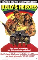 Kelly's Heroes Wall Poster