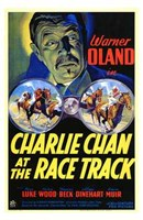 "Charlie Chan At the Race Track - 11"" x 17"""