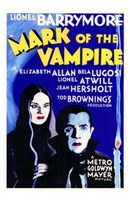 Mark of the Vampire - Blue Wall Poster