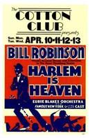 "Harlem is Heaven - 11"" x 17"""
