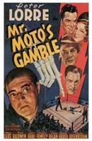 "Mr Moto's Gamble - 11"" x 17"""