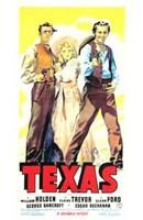 "Texas - 11"" x 17"""