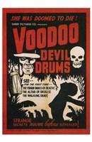 """Voodoo Devil Drums - 11"""" x 17"""""""