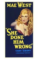 """She Done Him Wrong - 11"""" x 17"""""""