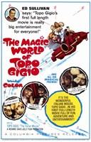 """The Magic World of Topo Gigio - 11"""" x 17"""" - $15.49"""