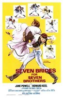 """Seven Brides for Seven Brothers - 11"""" x 17"""""""