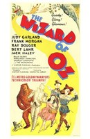 The Wizard of Oz Yellow Wall Poster