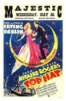 """Top Hat - Fred Ginger - 11"""" x 17"""""""