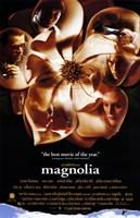 "Magnolia Flower with Cast's Faces - 11"" x 17"""