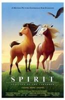 Spirit: Stallion of the Cimarron - cartoon Fine Art Print