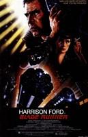Blade Runner Harrison Ford Framed Print