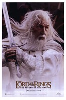 Lord of the Rings: Return of the King Gandalf Fine Art Print