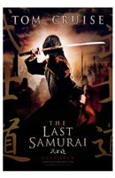 The Last Samurai Topm Cruise in Samurai Attire Wall Poster