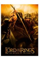 Lord of the Rings: Return of the King Legolas Fine Art Print