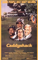 Caddyshack - Some people just don't belong Framed Print