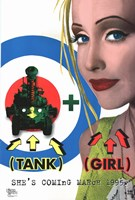 Tank Girl Wall Poster
