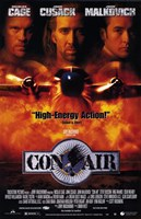 "Con Air Cage Cusack Malkovich - 11"" x 17"""