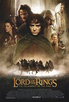 Lord of the Rings: Fellowship of the Ring Vertical Framed Print