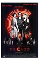 """Chicago Richard Gere Catherine Zeta Jones Zenee Zellweger - 11"""" x 17"""", FulcrumGallery.com brand"""