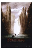 """Lord of the Rings: Fellowship of the Ring The Legend Comes to Life - 11"""" x 17"""""""