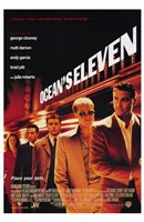 Ocean's Eleven Wall Poster