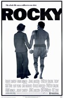 """Rocky Silhouette His Whole Life - 11"""" x 17"""" - $15.49"""