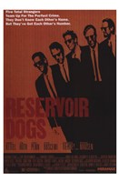 Reservoir Dogs Orange Wall Poster